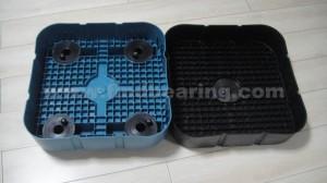 Plastic bearing box