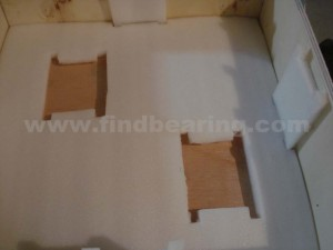SKF individual wooden box